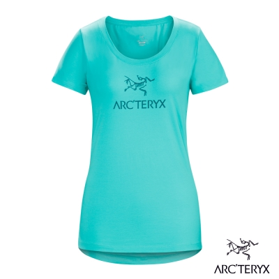 Arcteryx 始祖鳥 24系列 女 有機棉 短袖T恤 綠