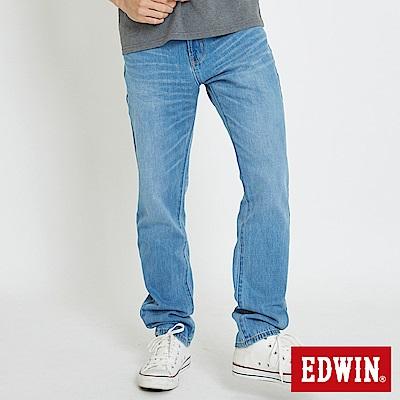 EDWIN 503復古水洗AB褲-男-重漂藍