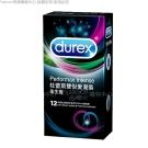Durex杜蕾斯 雙悅愛潮 保險套(12入X3盒)(快速到貨)