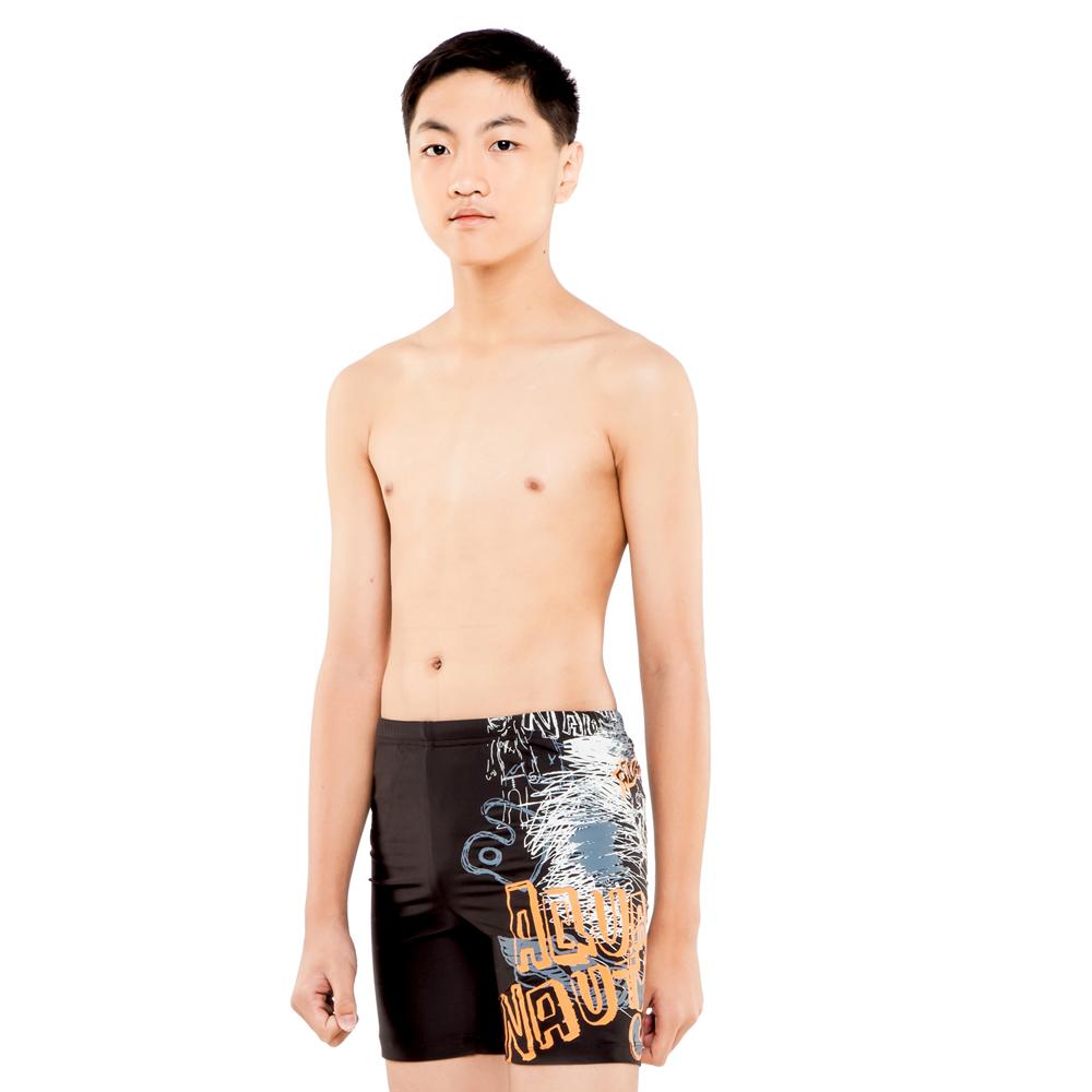 Aquanaut奧可那泳裝 酷字插畫塗鴉泳褲