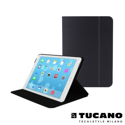 TUCANO iPad Air2 Folio 髮絲紋可站立式保護套