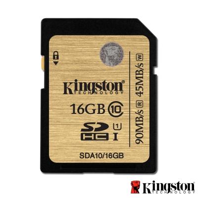 Kingston 金士頓 16GB 90MB/s SDHC UHS-I 記憶卡 SDA10