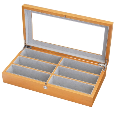 PARNIS BOX 眼鏡盒6只入 原木質感 獨家限定 禮物 眼鏡02-3 訂製款