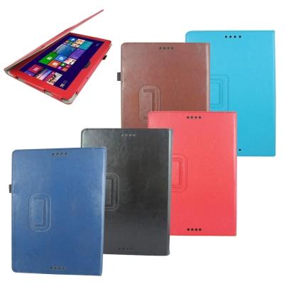 T29瘋馬紋支架 ASUS  T100 平板皮套螢幕組