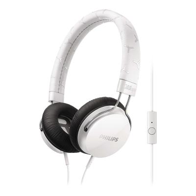 PHILIPS 飛利浦 頭戴式耳機麥克風 SHL5305WT