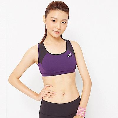 【TOP GIRL】 韻律無袖背心-深紫