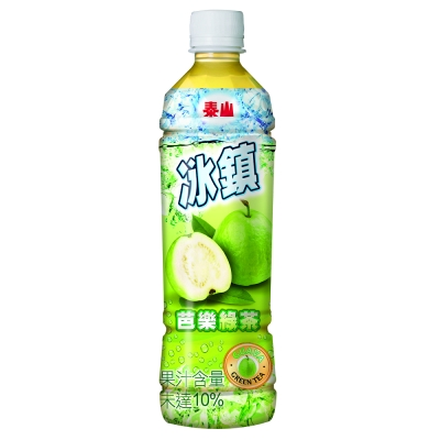 泰山 冰鎮芭樂綠茶 535mlx24入