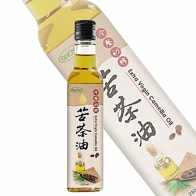 樸優樂活 冷壓初榨苦茶油(250ml)