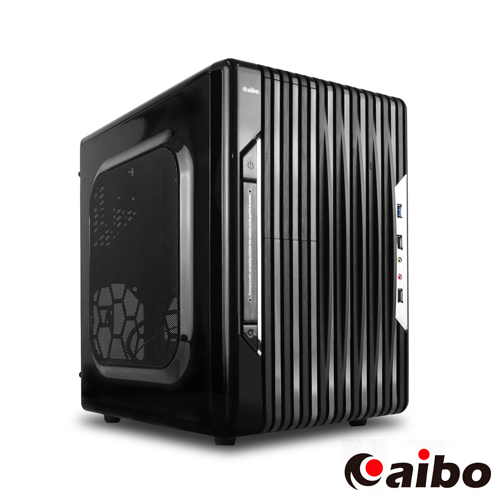 aibo 獵豹 USB3.0 一大(四小隱藏) 電腦機殼
