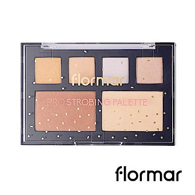 法國Flormar - 迷幻星夜-專業聚光燈立體打亮盤