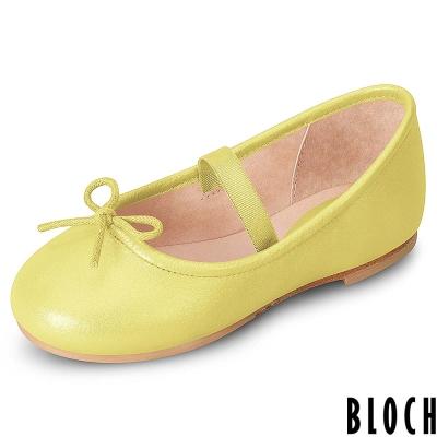 Bloch-澳洲蝴蝶結芭蕾舞鞋-黃色款