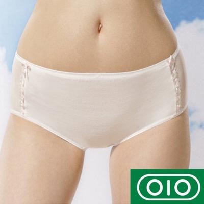 Gennies專櫃-010系列-孕婦中腰內褲(兩色可選TB27)