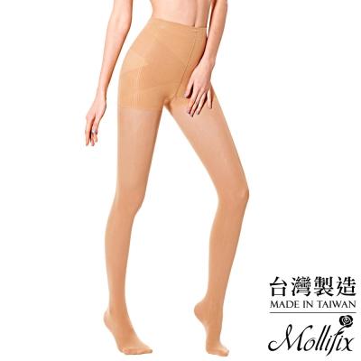 Mollifix 踮腳尖彈力透膚美腿襪(膚)