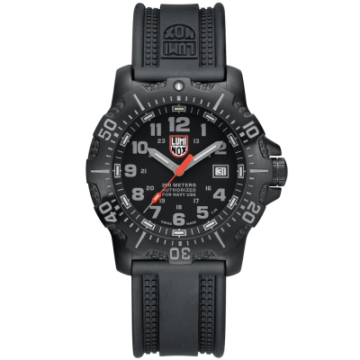 LUMINOX 雷明時ANU海豹部隊認證系列腕錶-黑X灰時標/45mm