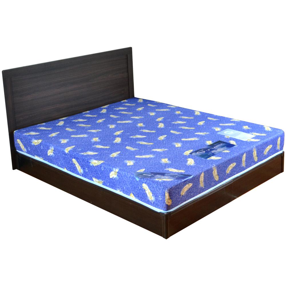 時尚屋 安妮特5尺床片型3件房間組含(床頭片+床墊+床底)