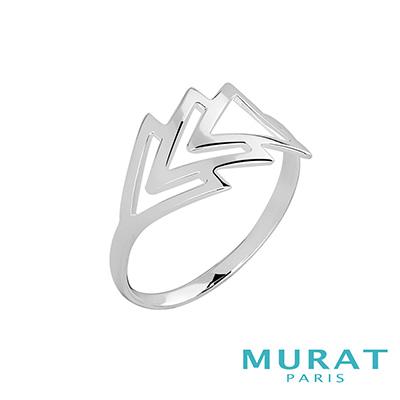 MURAT Paris米哈巴黎 多層次幾何戒指