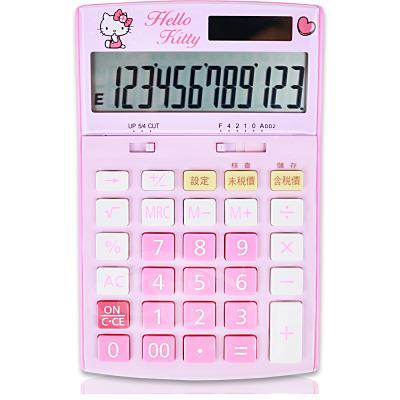 E-MORE Sanrio粉嫩系列-Hello Kitty 12位數計算機KT800