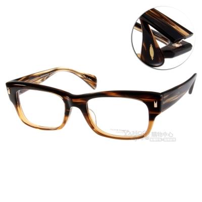 OLIVER PEOPLES眼鏡 好萊塢星鏡/彩紋棕#DEACON-XLP 8108