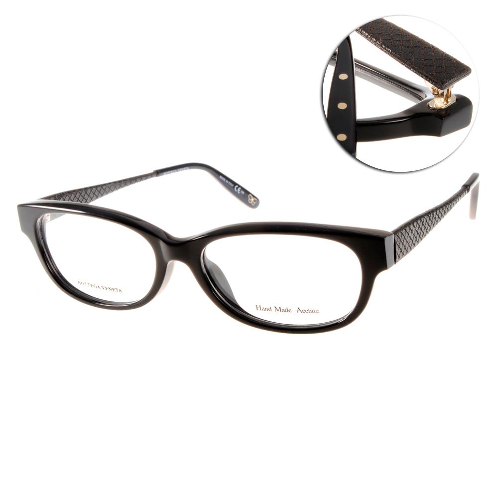 BOTTEGA VENETA眼鏡 完美品味/黑色#BV6035F F38
