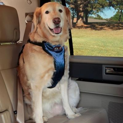 美國SOLVIT寵物介護 升級款豪華寵物車載安全帶XL號