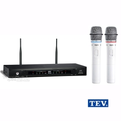 台灣電音TEV TR-760  UHF雙頻道無線麥克風