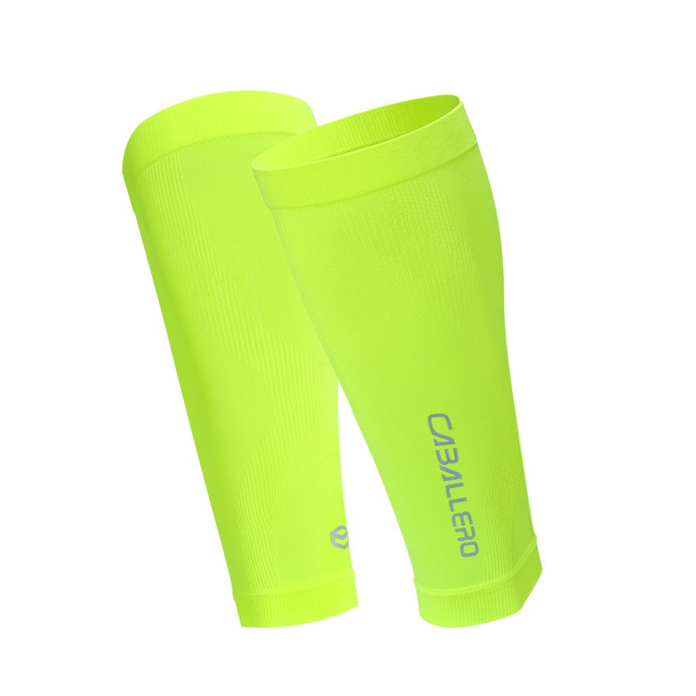 CABALLERO-壓縮小腿套-螢光黃