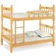 愛比家具 耐吉3.2尺單邊實木雙層床(兩色可選)