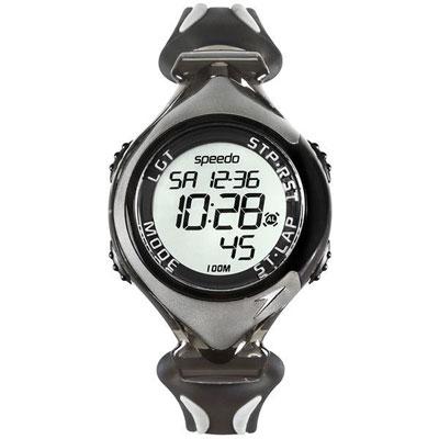 Speedo 暢快 電子腕錶-灰 40mm