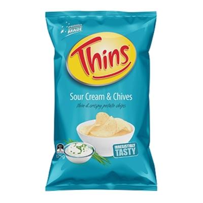 澳洲THINS 洋芋片-酸奶洋蔥口味 (175g)