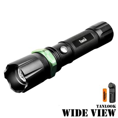 WIDE VIEW 超遠距照明變焦手電筒組(TL-0007B-AT)