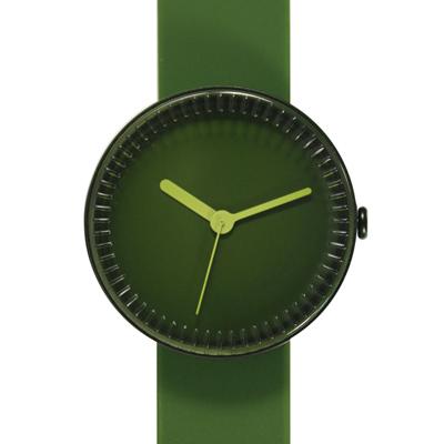 NAVA DESIGN 夢幻瓶罐個性腕錶-綠/40mm