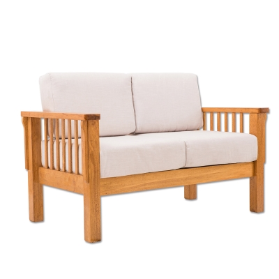 日木家居 Theo西歐實木雙人沙發