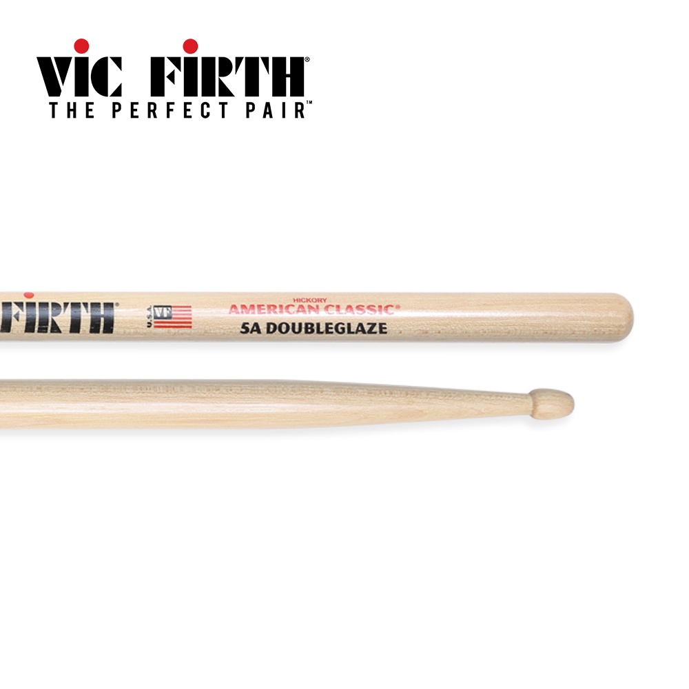 Vic Firth 5ADG Double Glaze 胡桃木鼓棒