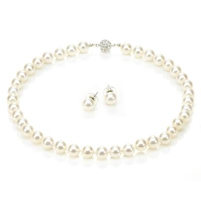 【大東山珠寶】10mm南洋貝寶珠套組(白)