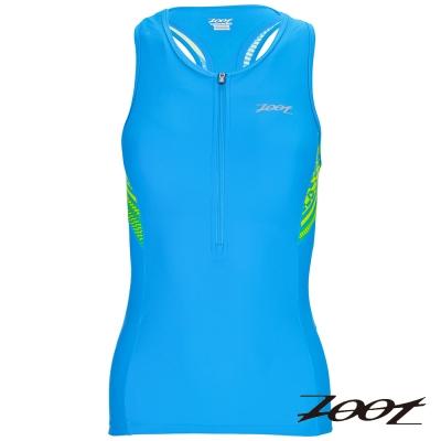 ZOOT 專業級半拉式鐵人上衣(女) Z1606008(圖騰藍)