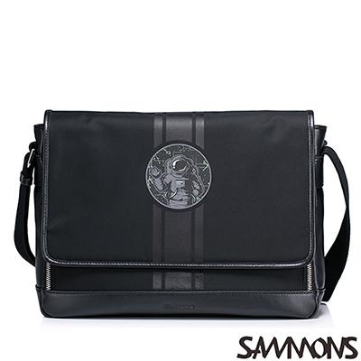 SAMMONS-阿波羅銀河漫步郵差包-百搭黑