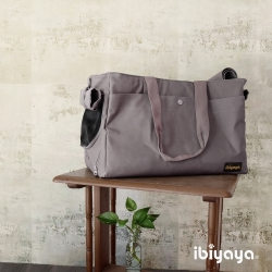 IBIYAYA依比呀呀-FC1428簡約手做寵物帆布包-灰