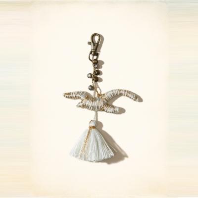HCO Hollister 海鷗 經典LOGO吊飾-米色