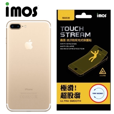 iMOS Apple iPhone 7+ Touch Stream 電競 背面保...