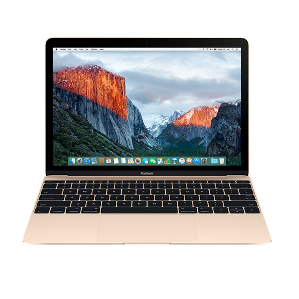 APPLE 12吋MacBook 1.1GHz/256GB 筆電 金色-MLHE2TA/A