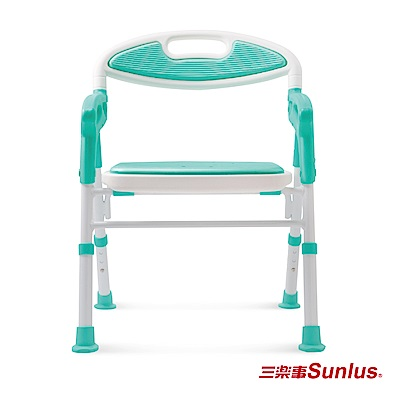 Sunlus 摺疊式軟墊洗澡安全椅