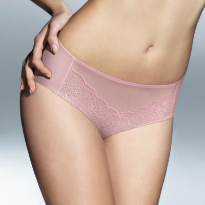 黛安芬-逆齡Bra-內衣配褲-高腰棉質內褲M-EL-玫瑰粉