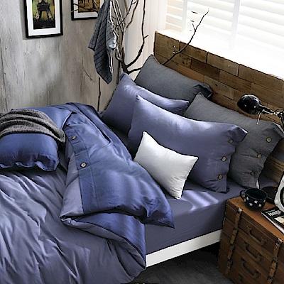 OLIVIA 色織長絨棉  日光  標準雙人床包枕套三件組