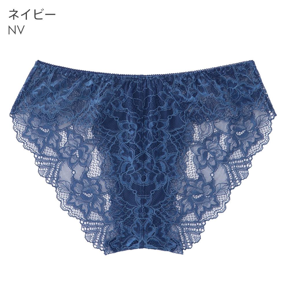 aimerfeel SEXY愛心蕾絲內褲-海軍藍