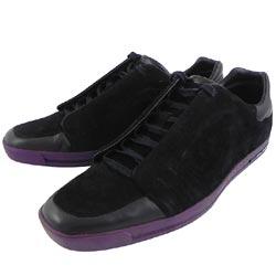 Y-3山本耀司 黑色麂皮運動休閒鞋-男款US 6.5號