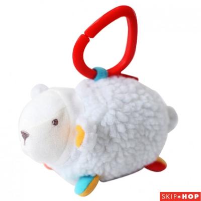 Skip Hop 小綿羊安撫玩具固齒器