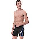 沙兒斯 泳裝 束線邊飾五分男泳褲