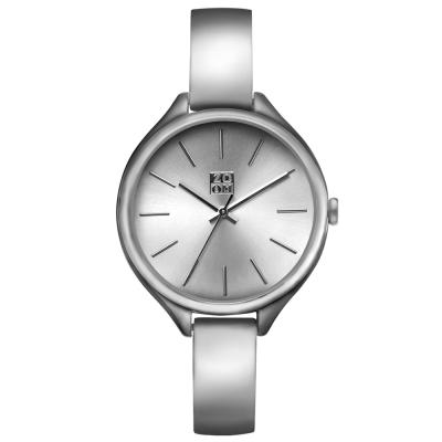 ZOOM  SHINE都會簡約時尚腕錶-銀/33mm