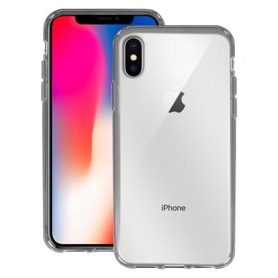 LUCCIDA Apple iPhone X 零系防摔殼-透明黑