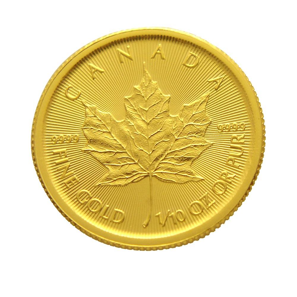 楓葉金幣-加拿大2017楓葉金幣1 10盎司
